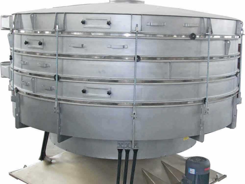 摇摆筛在树脂砂生产工艺中的应用